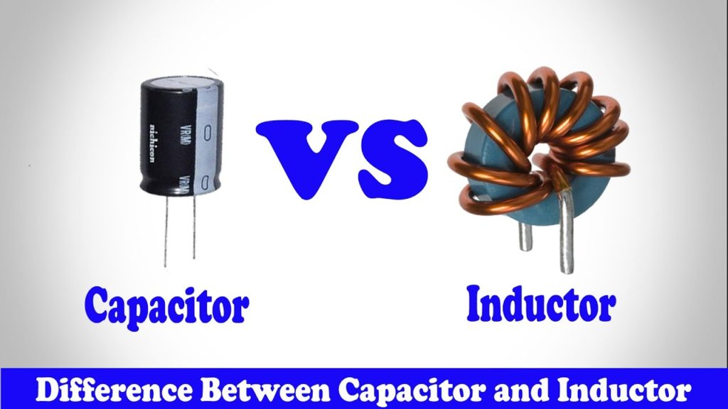Inductor and capacitor