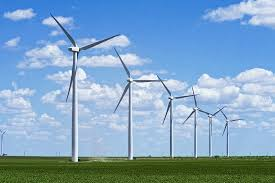 Electricity generation of wind energy